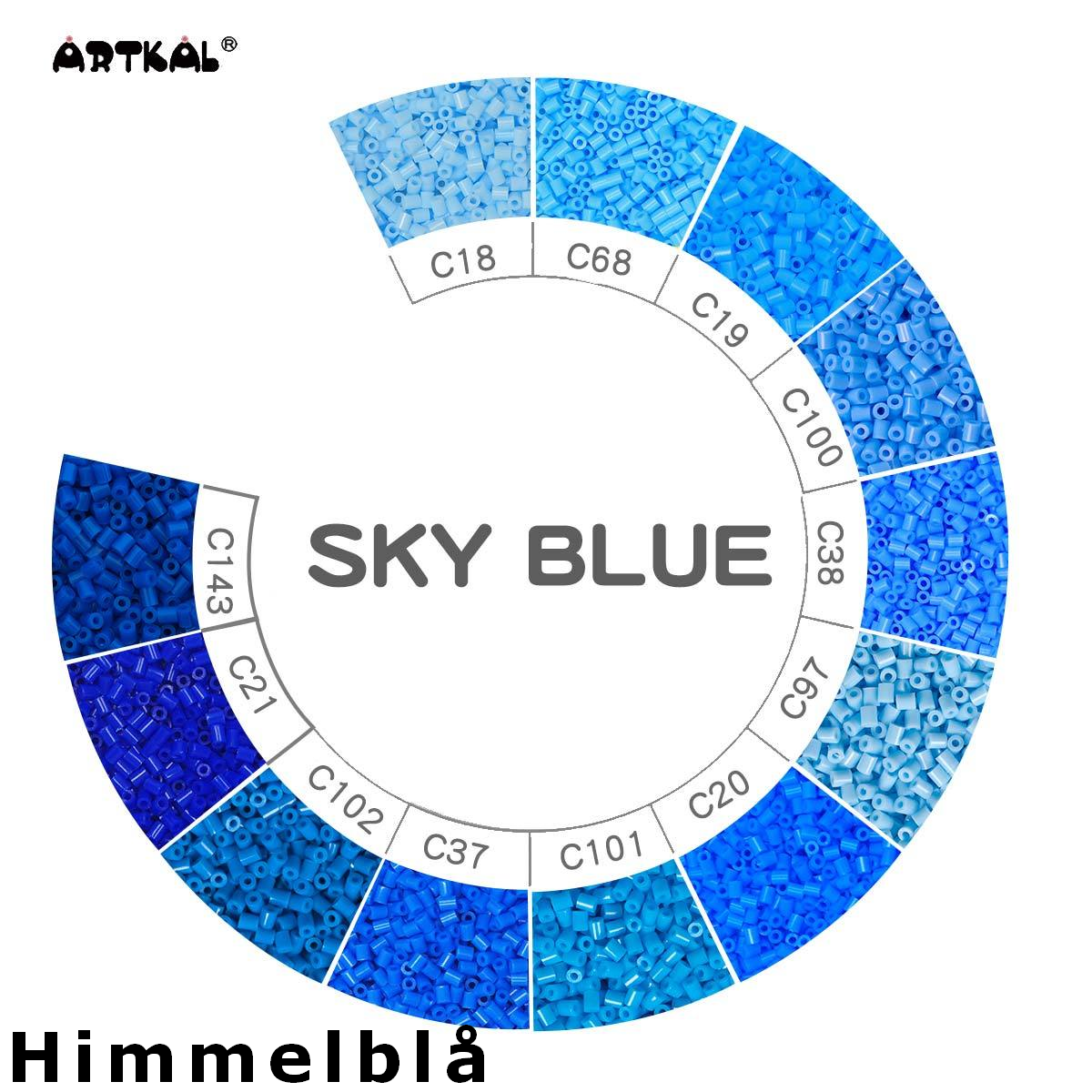 Artkal Wheel SKY Blue
