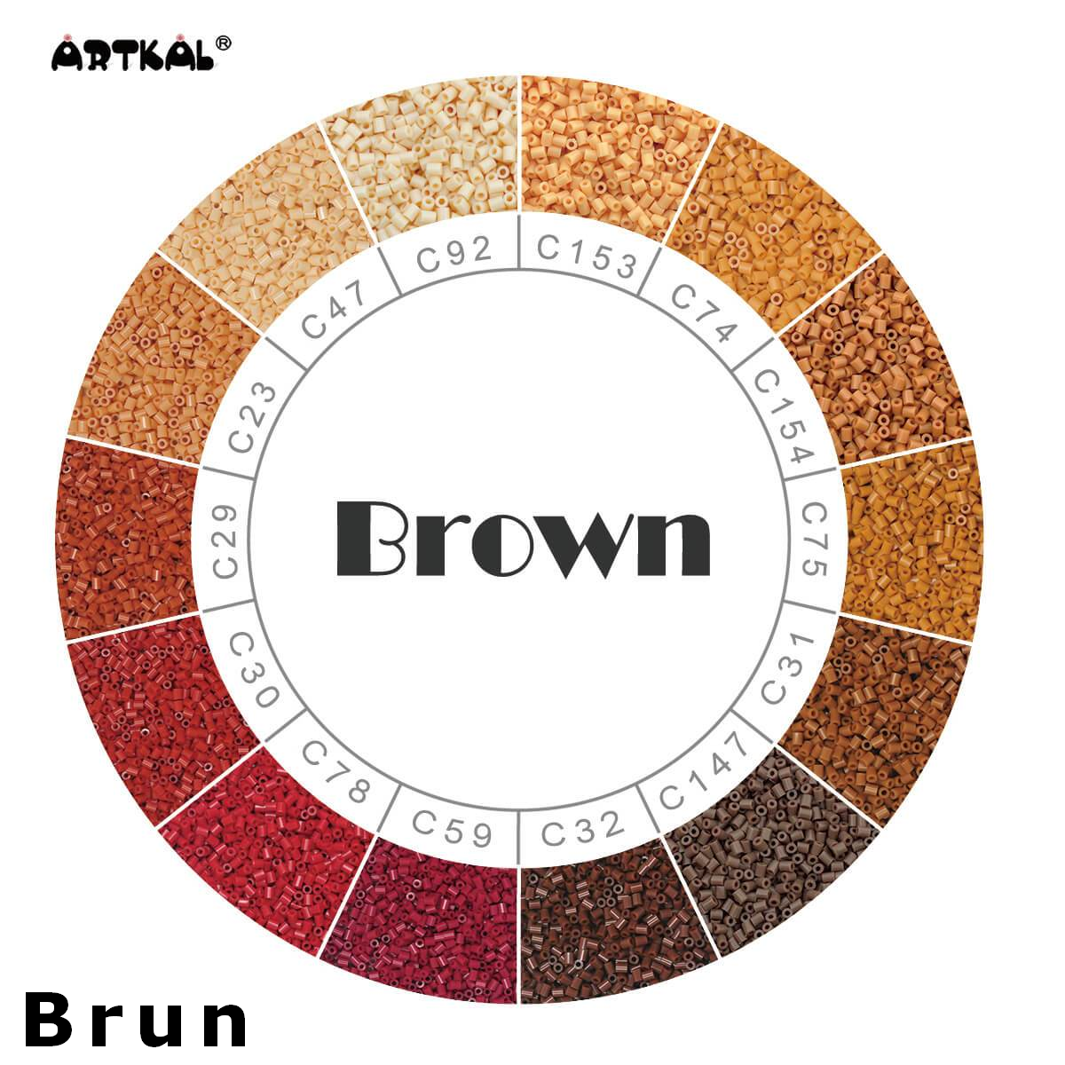 Artkal Wheel Brown