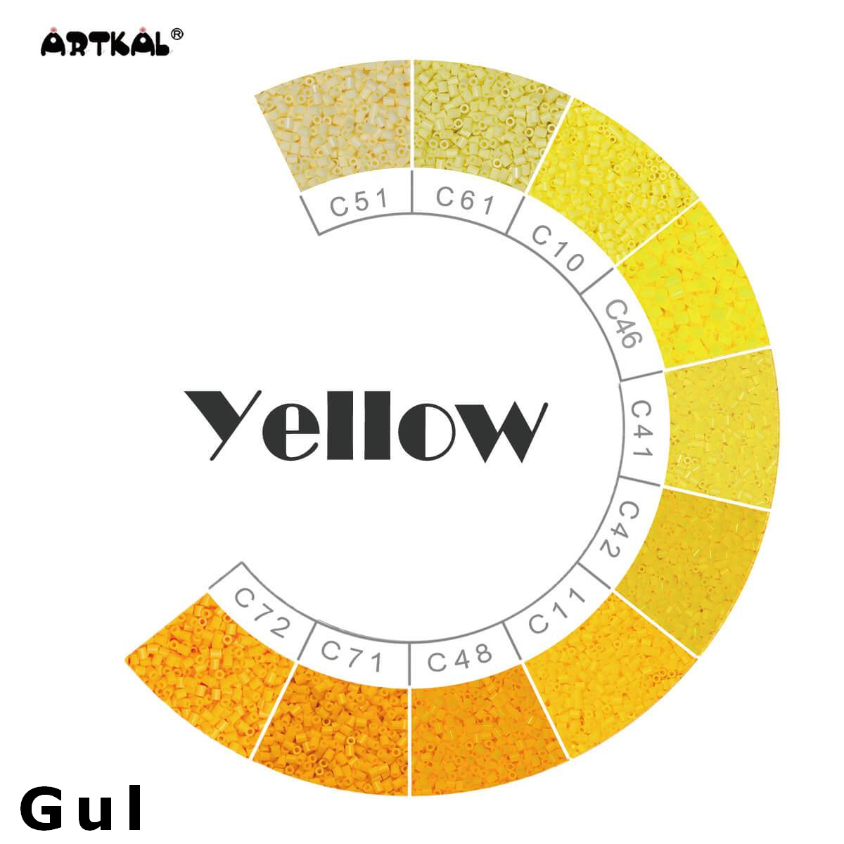 Artkal Wheel 3 Yellow