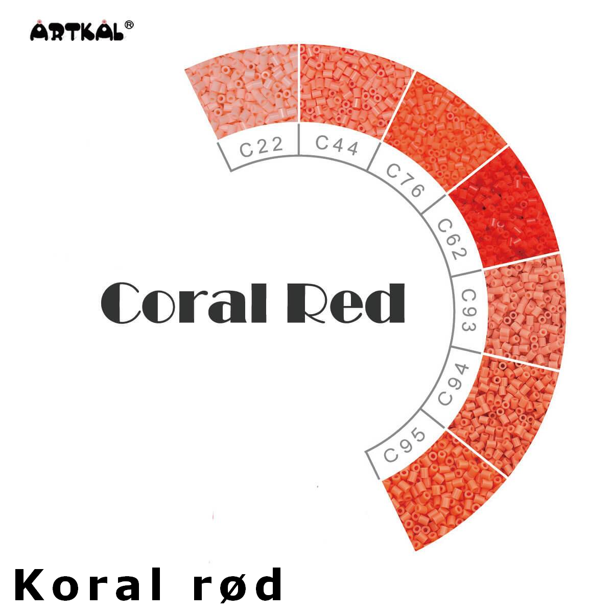 Artkal Wheel Coral-Red