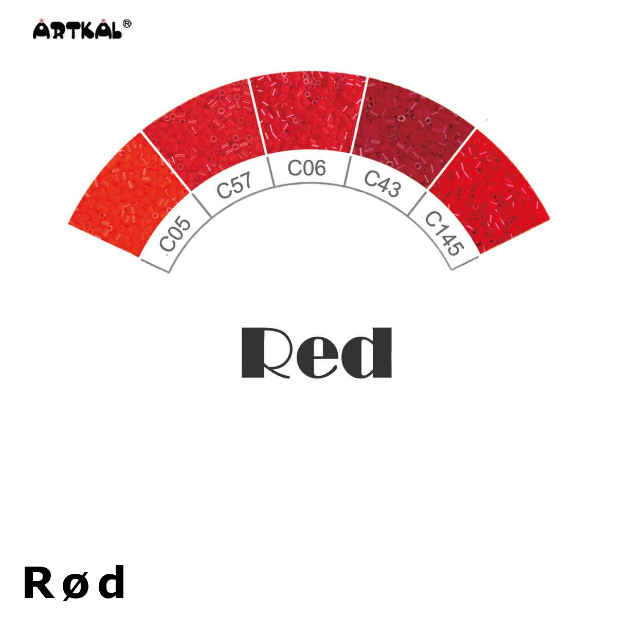 Artkal Wheel Red