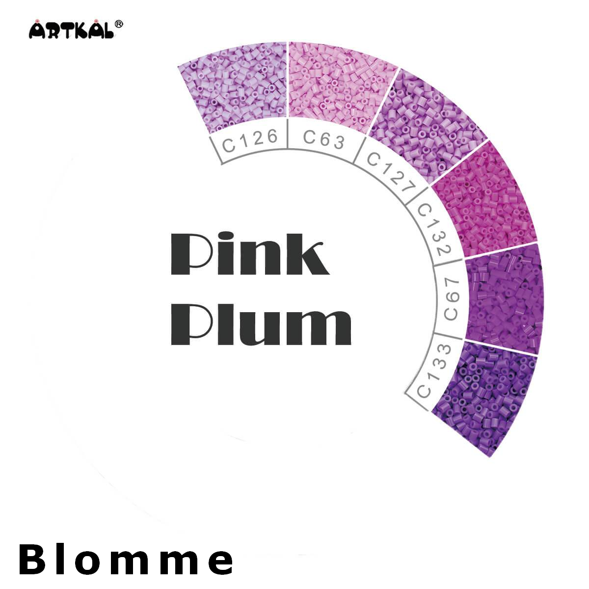 Artkal Wheel Pink Plum