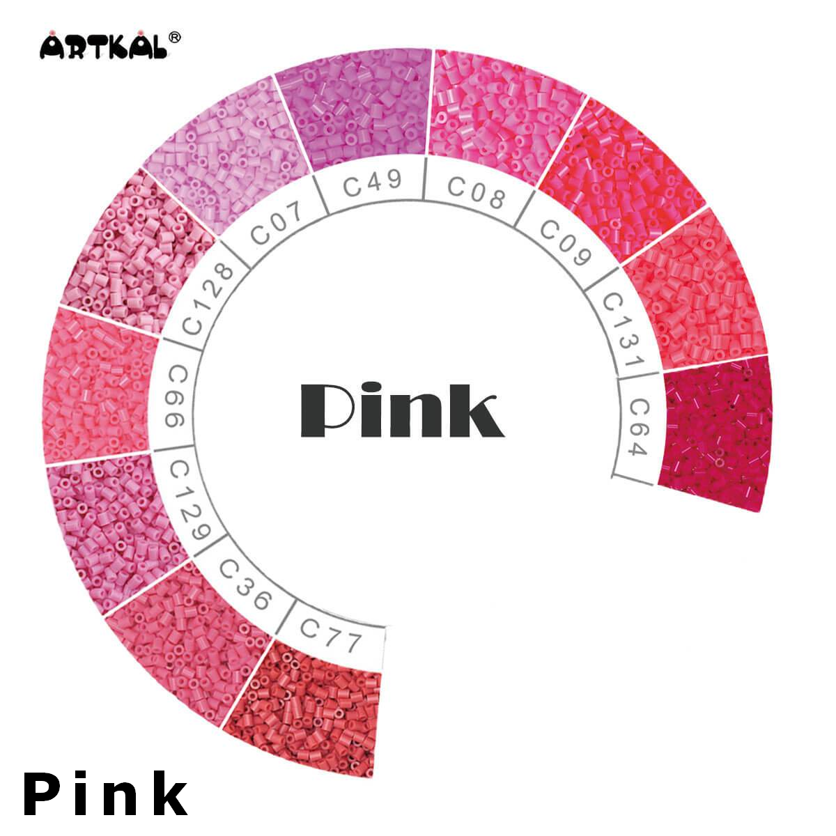 Artkal Wheel Pink